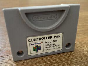 Original Controller Pak für Nintendo N64 - NUS-004 - Speicherkarte