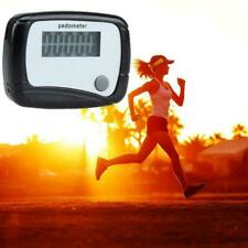 LCD Digital Step Pedometer Walking Calorie Counter Clip Run Belt Distance J7Q1