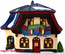 Dept. 56 Konditorei Schokolade Retired 1998 Alpine Village 56146 Mint in Box