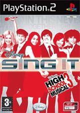 Disney Sing It - High School Musical 3 - Jeu Ps2