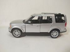 Welly Land Rover Discovery 4 Silver SUV Truck 1:24 Scale Diecast dc3281
