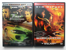 Vin Diesel Xxx And Fast and the Furious Dvd Set. Free Shipping Widescreen Cohen