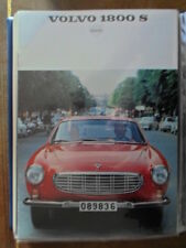 VOLVO 1800S SPORTS CAR orig 1968 UK Mkt Sales Brochure - P 1800 S a)