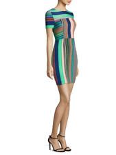 NWT $348 Diane von Furstenberg DVF Tailored Short Sleeve dress 4