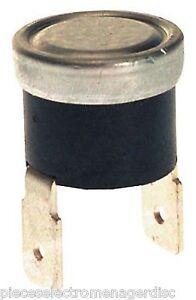 Thermostat klixon NC 160°C diamètre 16 mm  sécurité thermique WHIRLPOOL