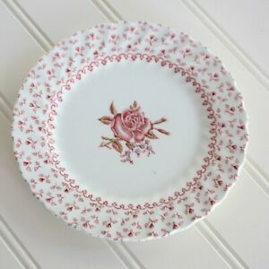 Johnson Brothers ROSE BOUQUET Bread & Butter Plate 6-1/4""
