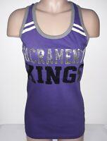 SACRAMENTO  KINGS NBA 5th & Ocean by NEW ERA Womens Tank Top XS, M