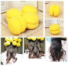 10 Pcs Balls Hair Rollers Curlers Tool Bun Round DIY Soft Foam Sponge New