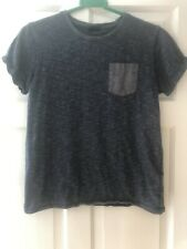 Boys Next Navy T-Shirt With Pocket Detail Age 11 Years
