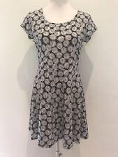 MICHAEL KORS AUTHENTIC Ladies Black & White Strapless Dress Size P/M (au 10)