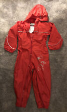 Regatta Waterproof Puddle Suit Isolite Red 3 - 4 Years/36-48 Months