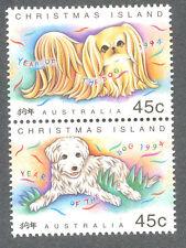 NATALE island-year del cane 1994 (386A) MNH