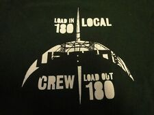 2011 U2 360 Green Steel Local Crew Concert Tour Tshirt Xl nice