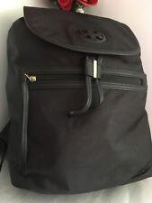 TORI BURCH BACKPACK BLACK DRAWSTRING HEAVY DUTY COLLEGE TRAVELING DUST BAG LXL