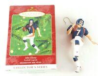 John Elway, Denver Broncos Football Legends, Hallmark Keepsake Ornament New Gift