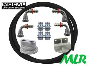 """MOCAL 3/4UNF 5/8"""" TOP EXIT REMOTE OIL FILTER KIT AUDI FORD NISSAN SEAT VW FK12"""