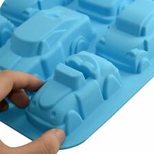 Large Race Car Cars Auto Racing Silicone Mold Cake Chocolate Soap Candle Candy