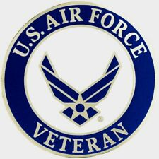 Air Force Veteran Lg Hat Pin 1 1/2""