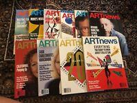 ARTnews Magazine 1990-1993 10 Magazines 200th issue, Lichtenstein