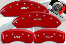 """2013-2016 Scion FR-S FRS Front + Rear Red """"MGP"""" Brake Disc Caliper Covers 4p Set"""