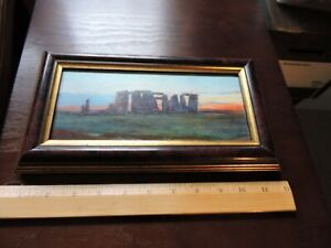 Stonehenge painting - Print on canvas - John William Inchbold's 1872