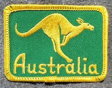 Lmh Patch Badge Kangaroo Marsupial Australia Wallaby Kangaroos 2-5/16""