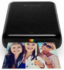 Polaroid ZIP Wireless Mobile Photo Mini Printer (Black) Compatible w/ iOS & And