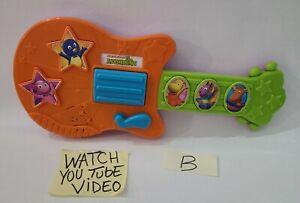 Fisher Price Nick Jr. The Backyardigans Sing & Strum Guitar 2011 Mattel B Read⬇️