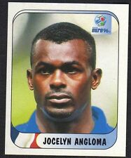 """EURO 96 STICKER - FRANCE - """"JOCELYN ANGLOMA"""" No 152 BY MERLIN"""