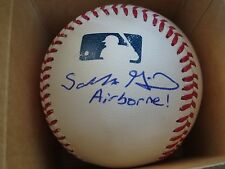 SALVATORE GIUNTA AUTOGRAPHED/SIGNED BASEBALL MEDAL OF HONOR