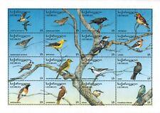 Georgia - 1996 Birds - Sheet of 16 - MNH