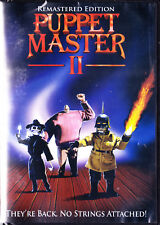 Puppet Master 2: His Unholy Creations (DVD, 1991) No strings Attached New