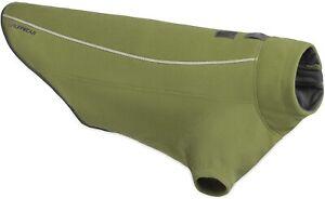 "Ruffwear Climate Changer Dog Fleece Jacket Cedar Green Size XXSmall 14-17"" EUC"