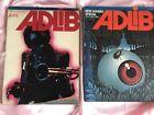 Adlib First issue feat Miles Davis 1973 Special Feature Jazz Japanese Magazine
