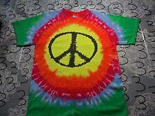 Medium- NWOT Peace Tye Dye Gildan T- Shirt