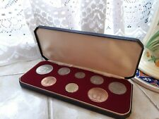 More details for philips silver jubilee year coin set last pre-decimal minting 1966/67