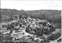 AK, Kurort Oybin, Teilansicht mit Felsengasse und Scharfenstein, 1960