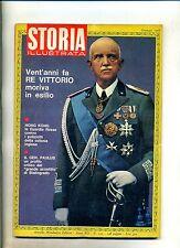 STORIA ILLUSTRATA#GENNAIO 1968 N.122#MORTE RE VITTORIO EMANUELE III##Mondadori