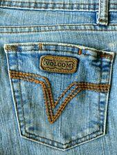 Velcom Stone Women's Size 9 jeans light wash flare leg mid-rise distressed