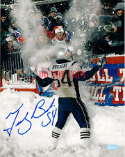 Tedy Bruschi New England Patriots signed autographed 8x10 photo Reprint