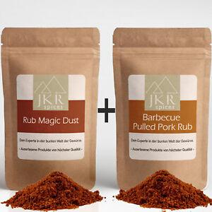 500g BBQ Magic Dust Rub + 500g Barbecue Pulled Pork Rub - Kombi Grillgewürz