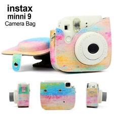 Fujifilm Instax Mini8/8+ /Mini 9funda cámara instantánea transparente con correa
