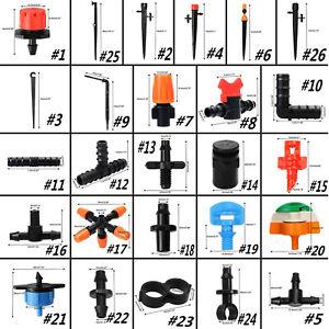 Gartenbewässerung System 13mm Automatische Bewässerung 4/7mm Armaturen