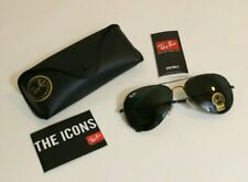 Ray-Ban Aviator Sunglasses 58mm Black Frame