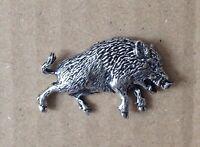 Rodeo Cowboy PP-W04   Pewter Emblem Kilt Pin Scarf or Brooch 3 7.5 cm
