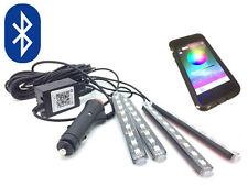 Bluetooth Led RGB App Lichter Innen Fußraum Flasche Blitz für Smart 2018