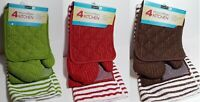 Graydon Hall 4 Piece Kitchen Set Oven Mitt Dishcloth Towel Pot Holder