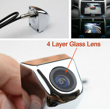 Universal 170° Car HD Rear View Backup Camera Monitor Parking Assistance Chrome