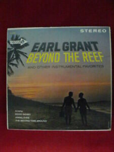 EARL GRANT BEYOND THE REEF LP 1962 DECCA RECORDS NM