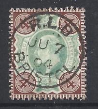 GREAT BRITAIN - EDWARD VII Registered Letter superb sock on - 95654